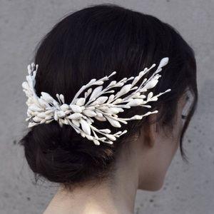 Olivia the Wolf Jacinta Wax Bridal Headpiece